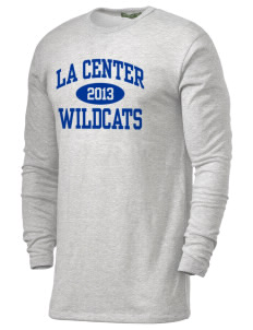 La Center High School Wildcats Alternative Men's 4.4 oz. Long-Sleeve T-Shirt