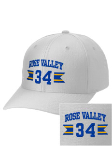Rose Valley Elementary School Panthers Embroidered Wool Adjustable Cap