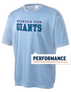 Mountain View Elementary School Giants Men's Competitor Performance T-Shirt