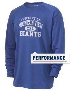 Mountain View Elementary School Giants Men's Ultimate Performance Long Sleeve T-Shirt