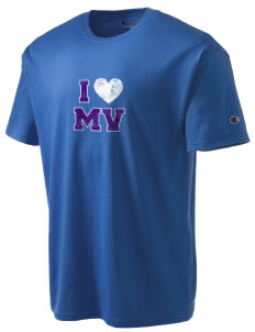 Mountain View Elementary School Giants Champion Men's Tagless T-Shirt