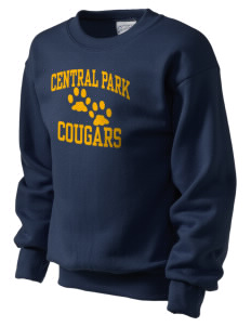 Central Park Elementary School Cougars Kid's Crewneck Sweatshirt
