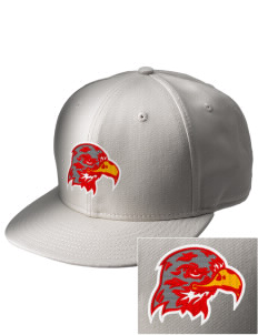 Port Townsend Senior High School Redskins  Embroidered New Era Flat Bill Snapback Cap