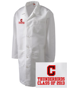 Chinook Middle School Thunderbirds Full-Length Lab Coat