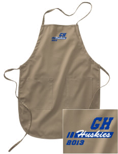 Gregory Heights Elementary School Huskies Embroidered Full Length Apron