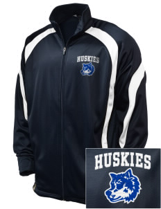 Gregory Heights Elementary School Huskies Embroidered Holloway Men's Tricotex Warm Up Jacket