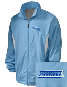 Gregory Heights Elementary School Huskies Embroidered Holloway Men's Full-Zip Jacket