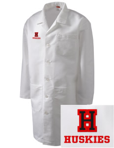 Hilltop Elementary School Huskies Full-Length Lab Coat