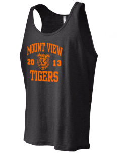 Mount View Elementary School Tigers Men's Jersey Tank