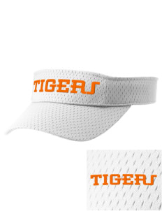 Mount View Elementary School Tigers Embroidered Woven Cotton Visor