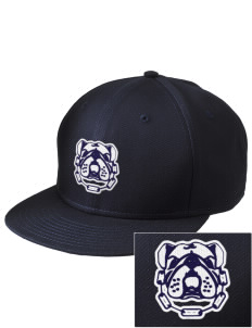 Southern Heights Elementary School Bulldogs  Embroidered New Era Flat Bill Snapback Cap