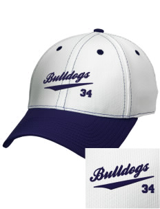 Southern Heights Elementary School Bulldogs Embroidered New Era Snapback Performance Mesh Contrast Bill Cap