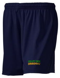 "Valley View Elementary School Dragons Embroidered Holloway Women's Performance Shorts, 5"" Inseam"