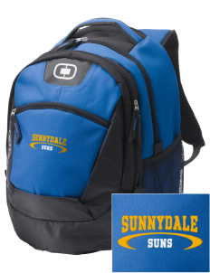 Sunnydale Elementary School Suns Embroidered OGIO Rogue Backpack