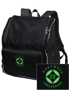 Kentwood High School Conquerors Embroidered Holloway Backpack