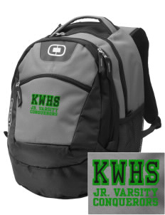 Kentwood High School Conquerors Embroidered OGIO Rogue Backpack