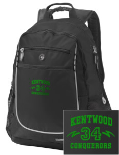 Kentwood High School Conquerors Embroidered OGIO Carbon Backpack