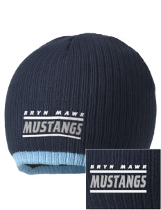 Bryn Mawr Elementary School Mustangs Embroidered Champion Striped Knit Beanie