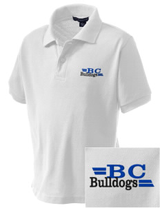 Briar Crest Elementary School Bulldogs Embroidered Kid's Silk Touch Polo