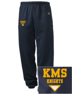 Kellogg Middle School Knights Embroidered Champion Men's Sweatpants