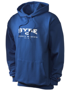 Syre Elementary School Wildcats Champion Men's Hooded Sweatshirt