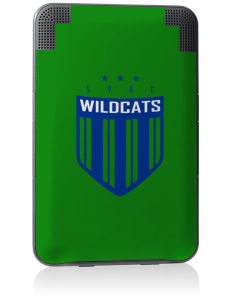 Syre Elementary School Wildcats Kindle Keyboard 3G Skin