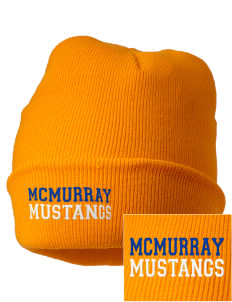 McMurray Middle School Mustangs Embroidered Knit Cap