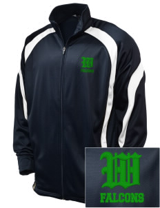 Woodinville High School Falcons Embroidered Holloway Men's Tricotex Warm Up Jacket