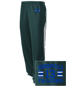 Woodinville High School Falcons Embroidered Holloway Men's Pivot Warm Up Pants