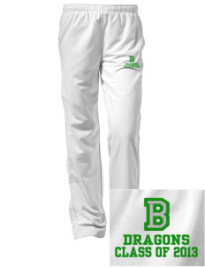 Bryant Elementary School Dragons Embroidered Women's Tricot Track Pants