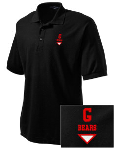 Gatzert Elementary School Bears Embroidered Men's Silk Touch Polo