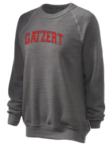 Gatzert Elementary School Bears Unisex Alternative Eco-Fleece Raglan Sweatshirt