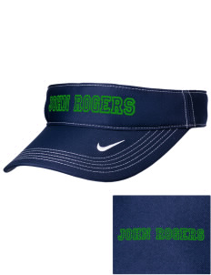 John Rogers Elementary School Otters Embroidered Nike Golf Dri-Fit Swoosh Visor
