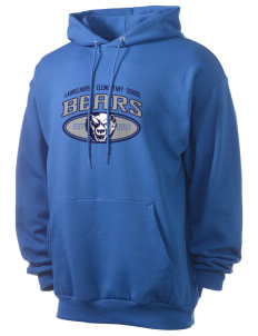 Laurelhurst Elementary School Bears Men's 7.8 oz Lightweight Hooded Sweatshirt