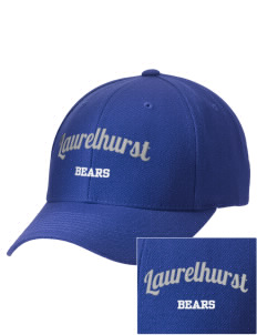 Laurelhurst Elementary School Bears Embroidered Wool Adjustable Cap