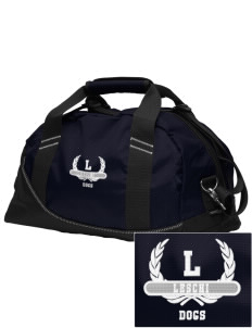 Leschi Elementary School Dogs Embroidered OGIO Half Dome Duffel