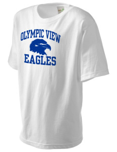 Olympic View Elementary School Eagles Kid's Organic T-Shirt