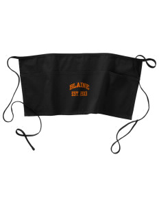 Catherine Blaine School Tigers Waist Apron with Pockets