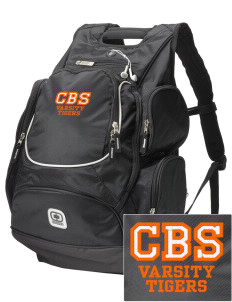 Catherine Blaine School Tigers  Embroidered OGIO Bounty Hunter Backpack