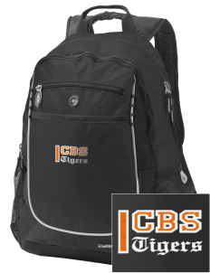 Catherine Blaine School Tigers Embroidered OGIO Carbon Backpack