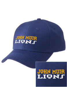 John Muir Elementary School Lions  Embroidered New Era Adjustable Structured Cap