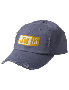 John Muir Elementary School Lions Embroidered Distressed Cap