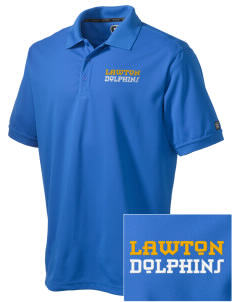 Lawton Elementary School Dolphins Embroidered OGIO Men's Caliber Polo
