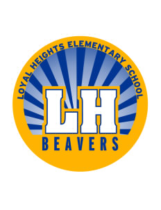 Loyal Heights Elementary School Beavers Sticker