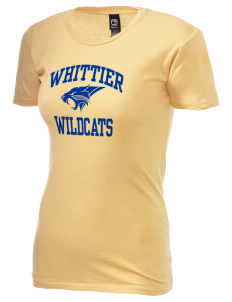 Whittier Elementary School Wildcats Alternative Women's Basic Crew T-Shirt
