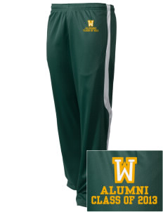 Whitworth Elementary School Wildcats Embroidered Holloway Men's Tricotex Warm Up Pants