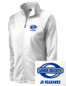 Arbor Heights Elementary School Jr Seahawks Embroidered Women's Tricot Track Jacket
