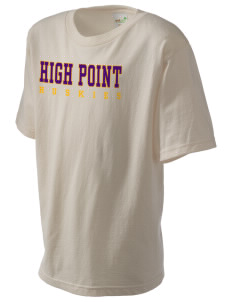 High Point Elementary School Huskies Kid's Organic T-Shirt