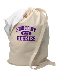 High Point Elementary School Huskies Laundry Bag