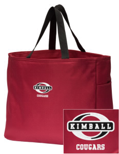 Kimball Elementary School Cougars Embroidered Essential Tote